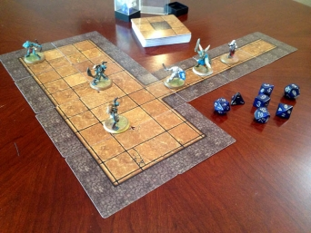 Modular Dungeon Tiles Rectangular Room Example