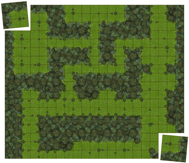 Sample Forests Tiles with Master & Expansion Set Combo